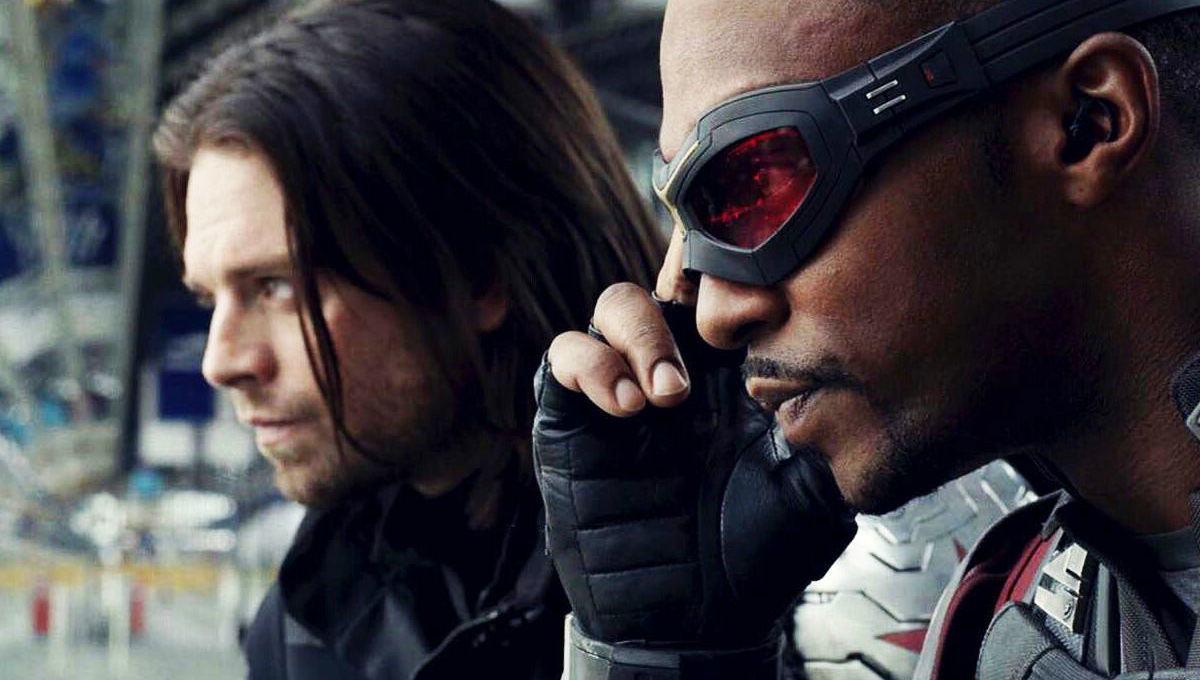 Falcon Anthony Mackie Winter Soldier Sebastian Stan