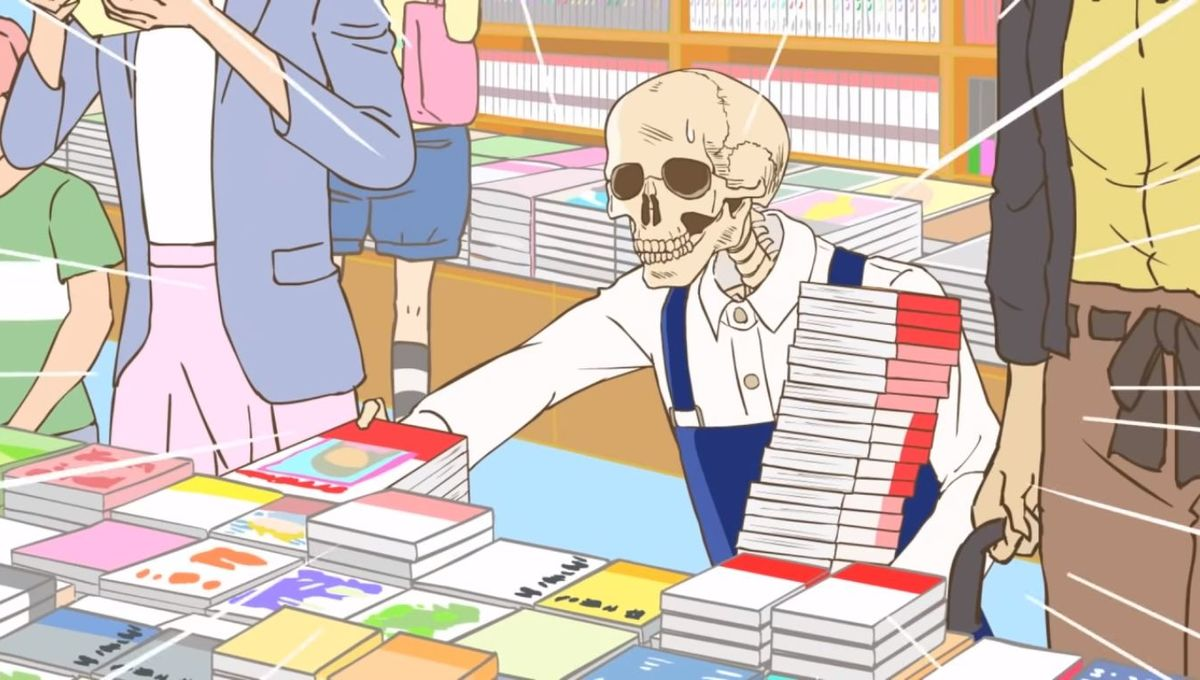 Gaikotsu Shotenin Honda-san - Book Arrangements