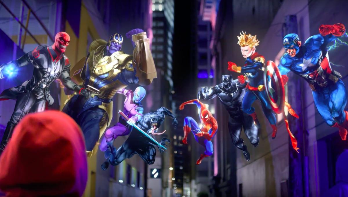 Marvel Battle Lines card game