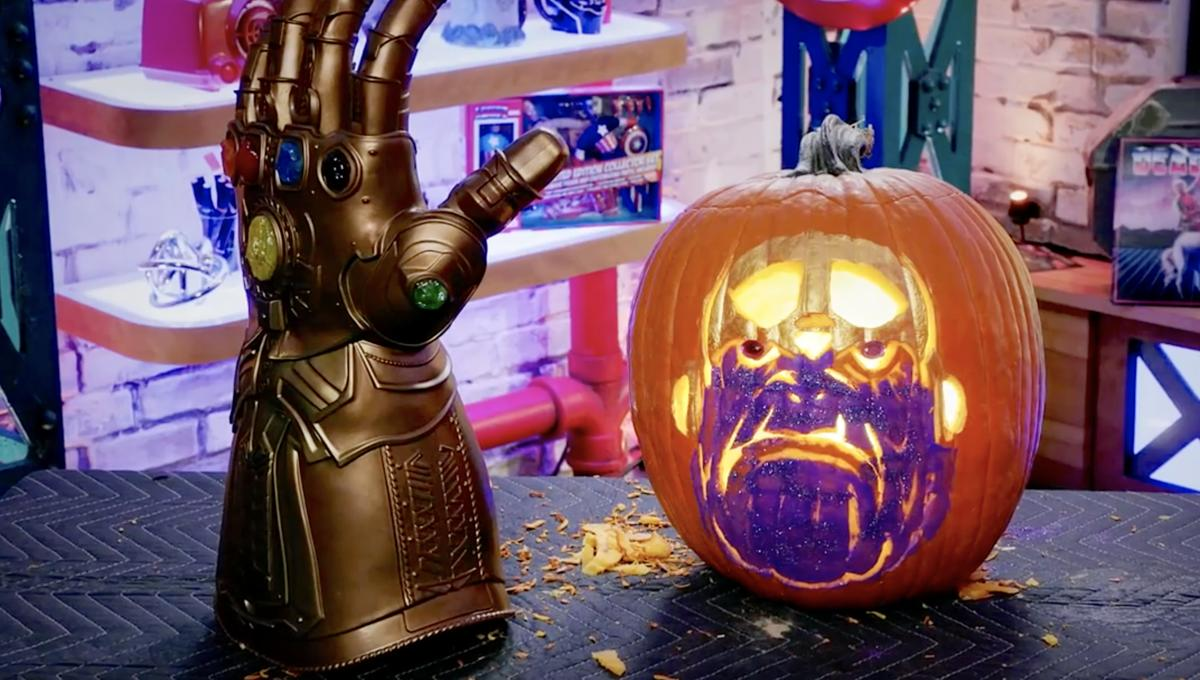 Marvel Thanos Halloween Pumpkin