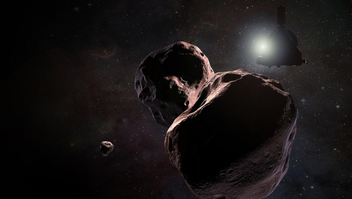 NASA image of Ultima Thule
