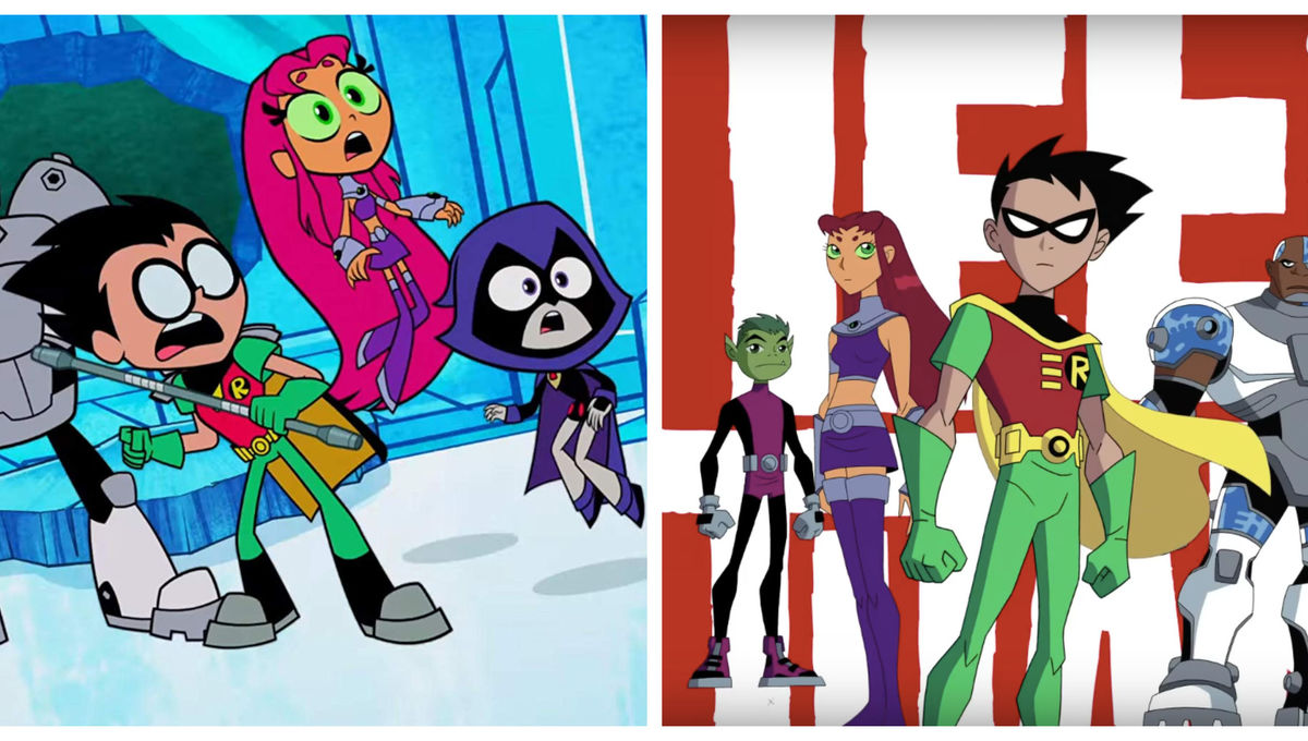 Teen Titans shows