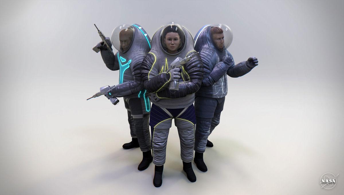 NASA Z-2 suit prototype