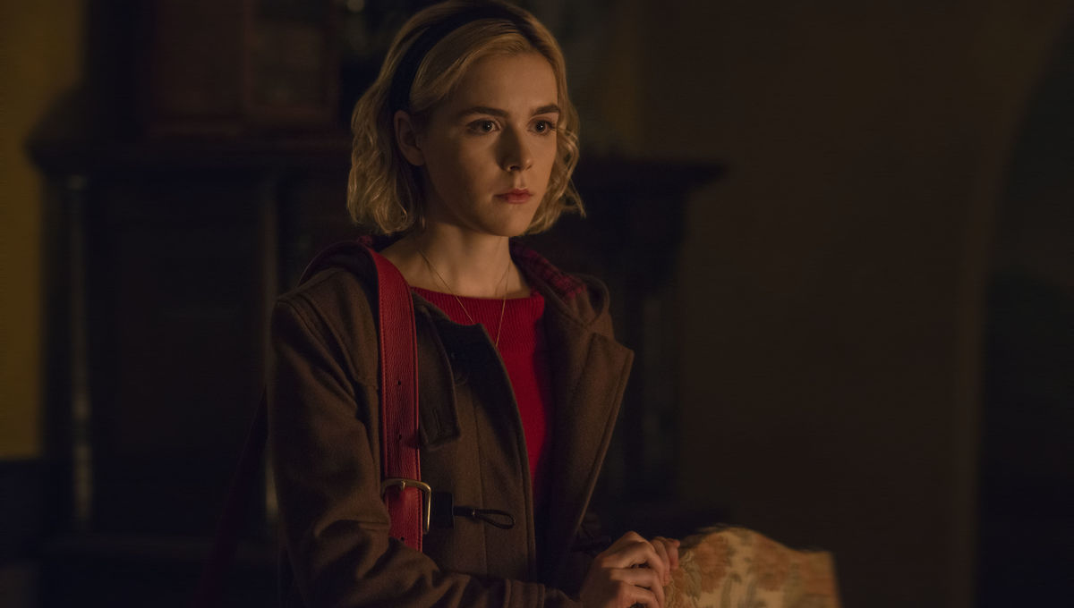 e4eb0b5b2182 Look of the Week  Chilling Adventures of Sabrina delivers timeless style  and fall inspiration
