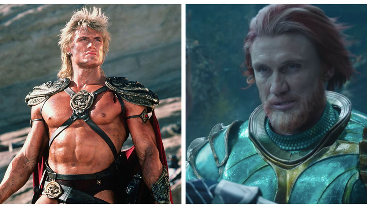 Dolph Lundgren Masters of the Universe Aquaman