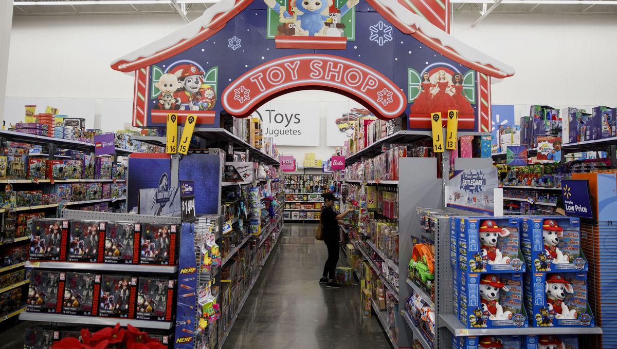 Black Friday toy shop