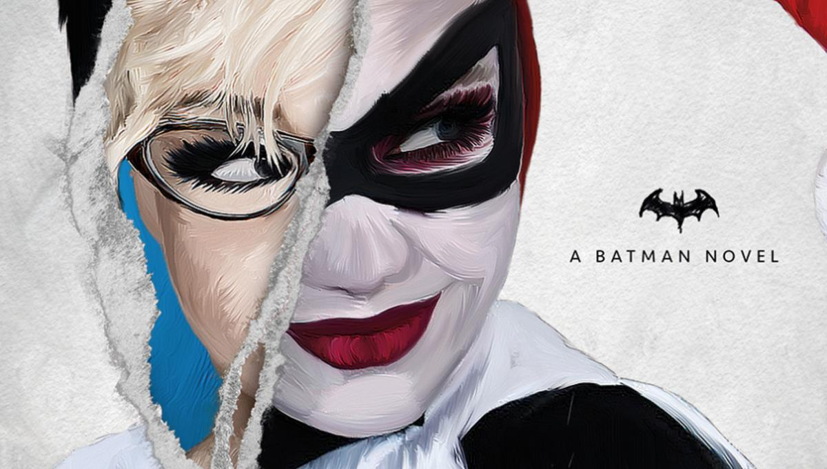 Bash your way into our early look at Titan's new Harley Quinn: Mad Love novel