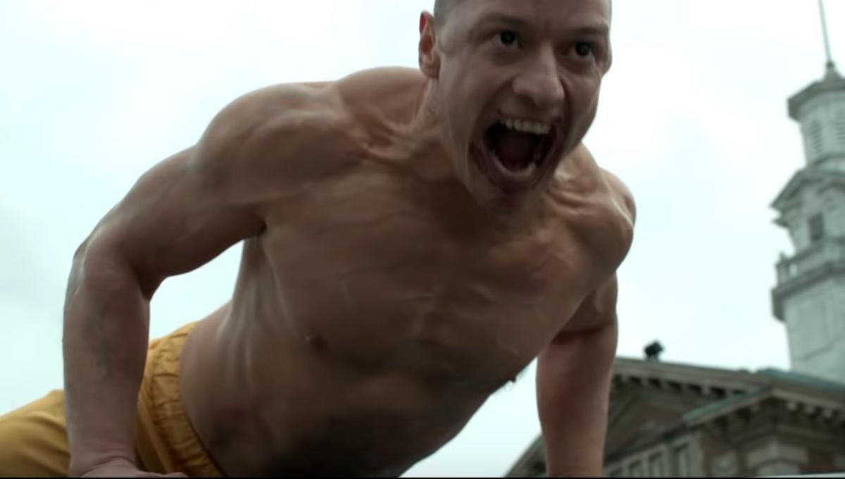 New Glass footage finds James McAvoy getting beastly ...