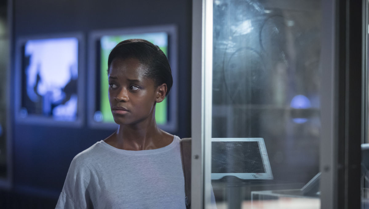 Letitia Wright secured a role on Black Mirror with the help of this Black Panther star from the set of the Marvel movie