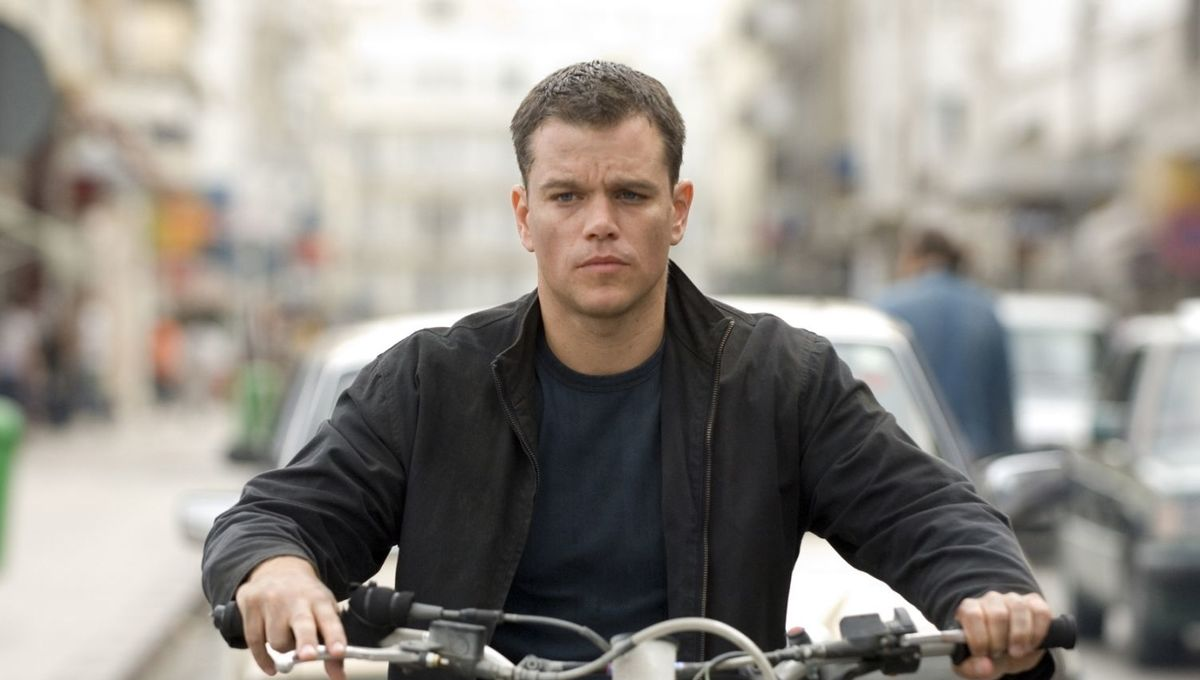 The Bourne Ultimatum Jason Bourne Matt Damon
