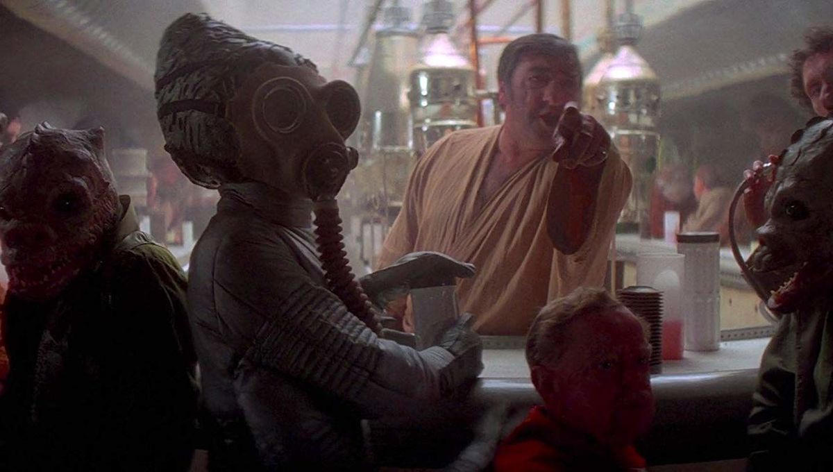 Star Wars Mos Eisley cantina A New Hope