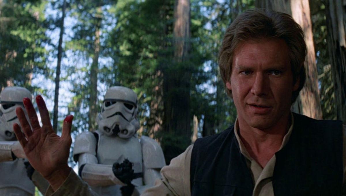 Han Solo Star Wars Return of the Jedi Harrison Ford