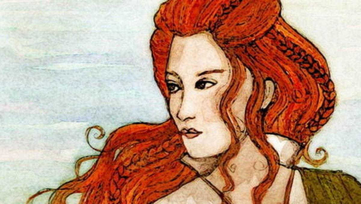 Grace O'Malley, a bald Irish rebel who stood up to the Queen
