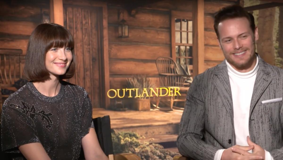 WATCH: Outlander's Caitriona Balfe and Sam Heughan discuss the harrowing events of 'Do No Harm'
