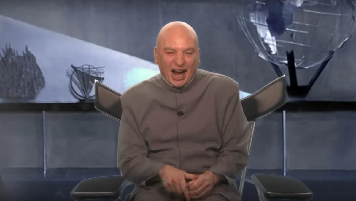 Mike Myers returns as Dr. Evil to lay out his five-point plan to 'Make America Evil Again'