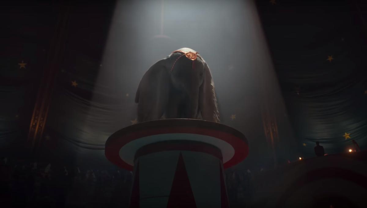 Dumbo live-action movie Disney Tim Burton