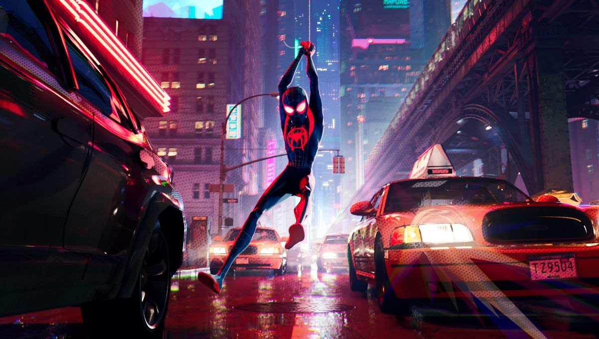 Miles Morales into the Spider-Verse
