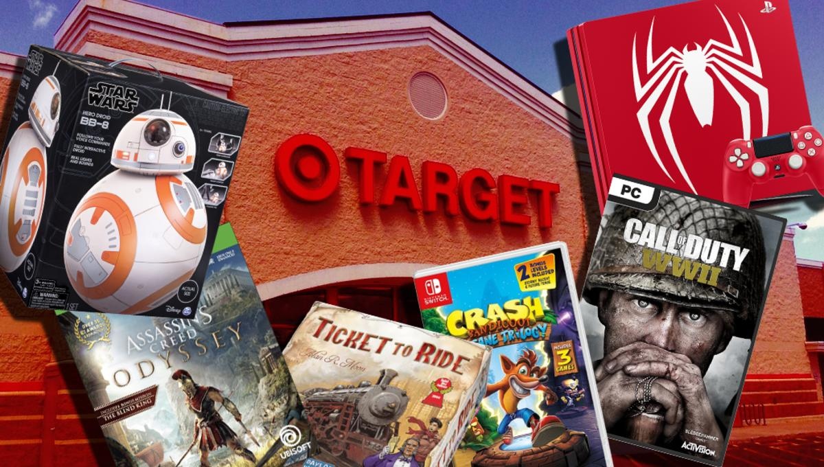Target's best Black Friday game and toy deals