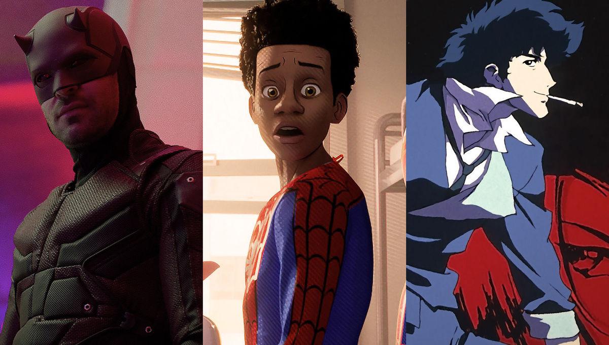 Who Won the Week Episode 156: Marvel's Daredevil, Into the Spider-Verse, Cowboy Bebop