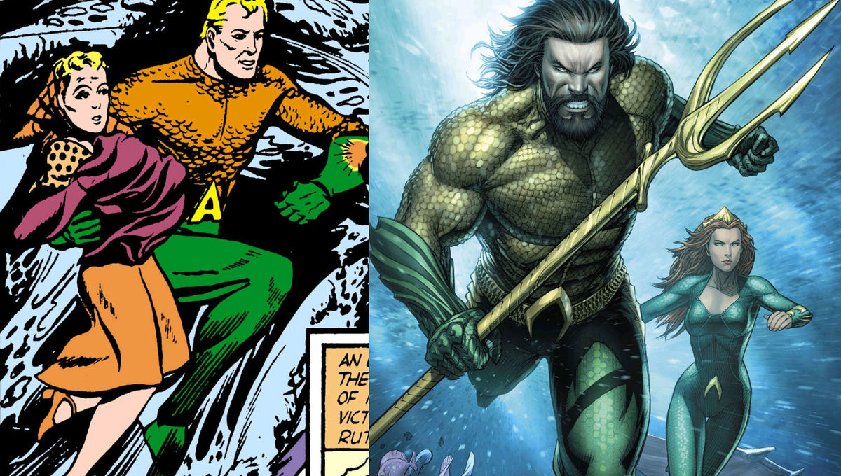 Aquaman Artists Roundtable Dc Artists Explain How They Remade