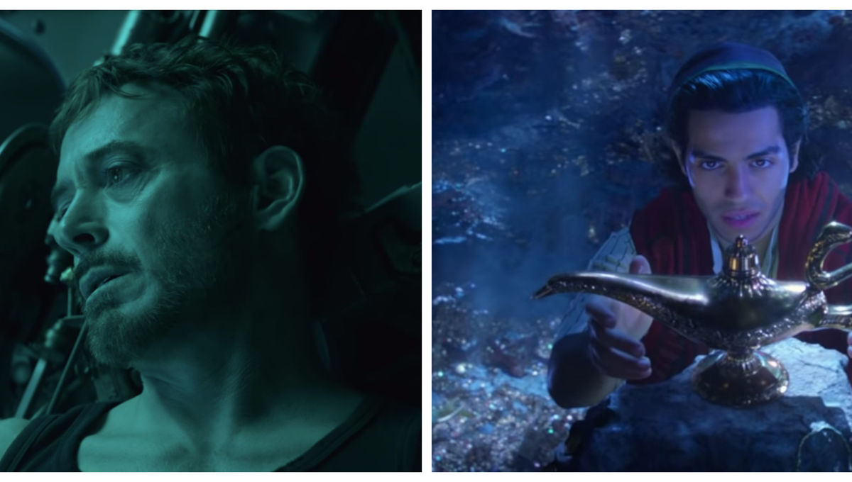 Avengers Endgame and Aladdin