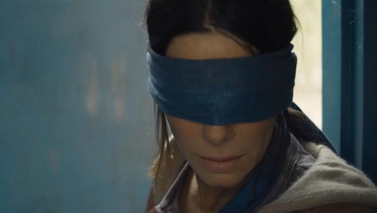 Bird Box's Sandra Bullock is flying blind in this terrifying 5