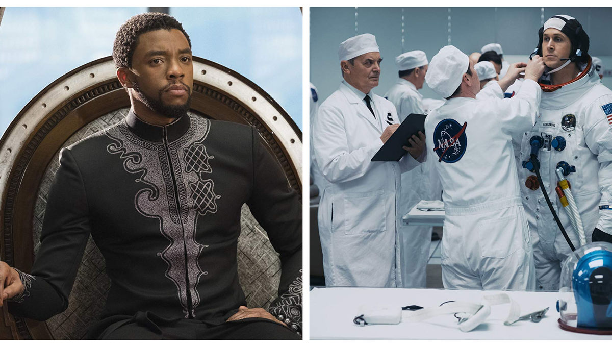 Image result for first man and black panther