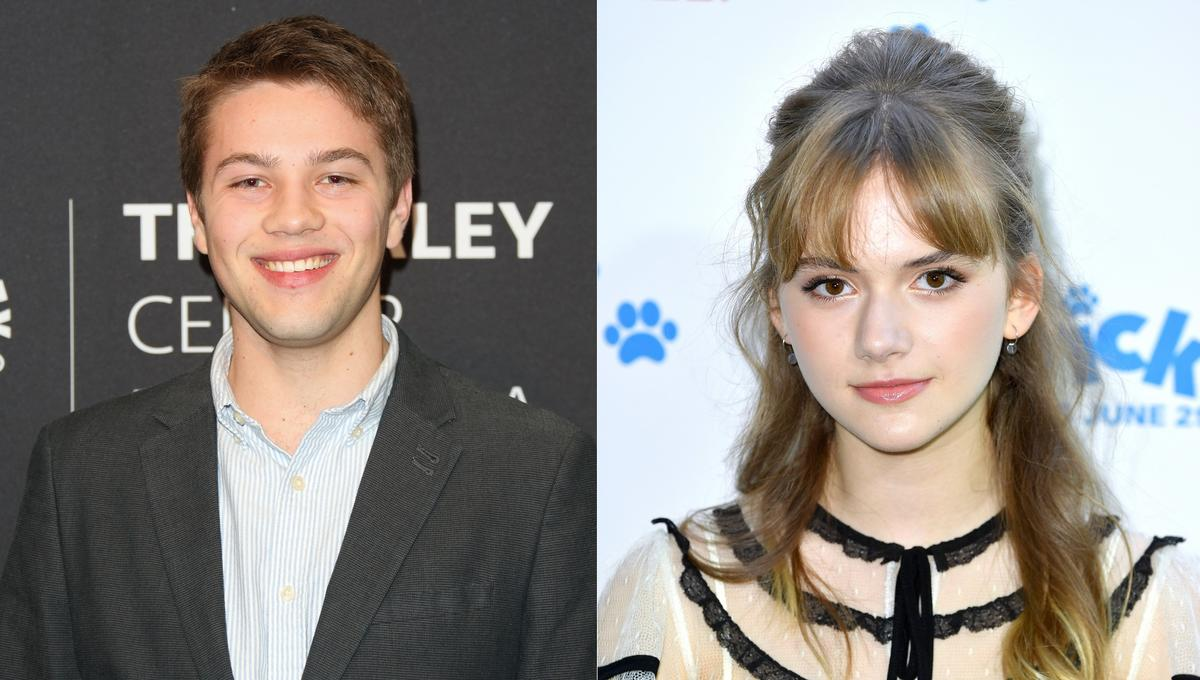 Connor Jessup and Emilia Jones