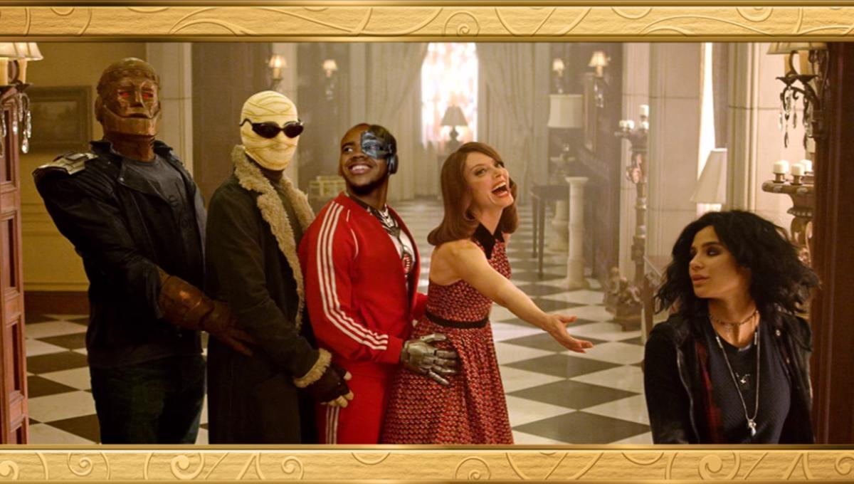 Doom Patrol family portrait