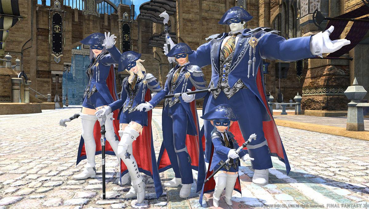 Final Fantasy XIV Blue Mage via official FF XIV site 2018