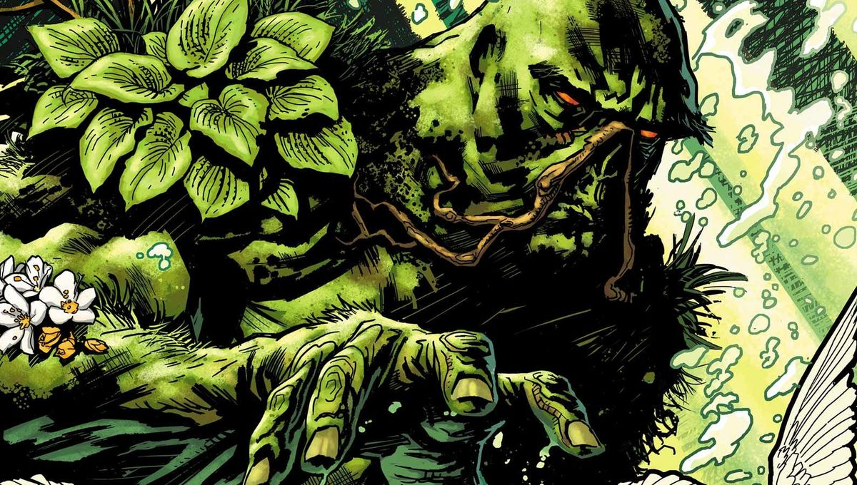DC roundup: First set footage from Swamp-Thing surfaces