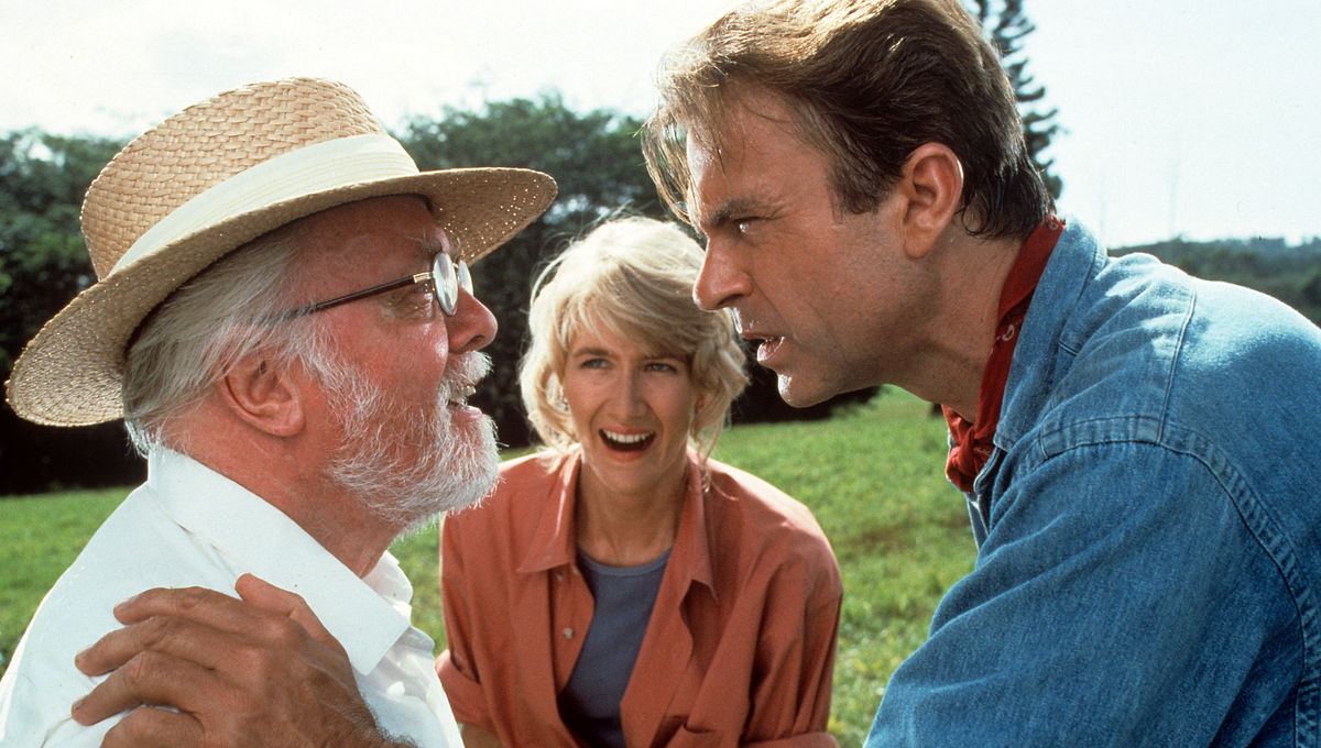 Jurassic Park Sam Neill Laura Dern Richard Attenborough