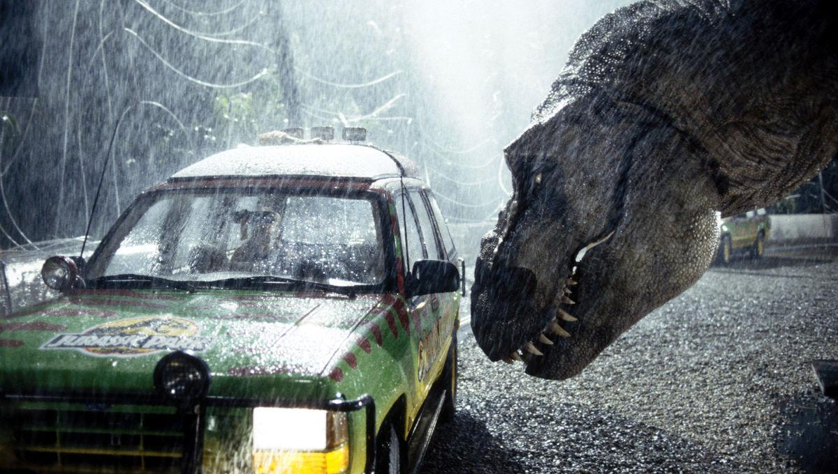 Jurassic Park T. rex
