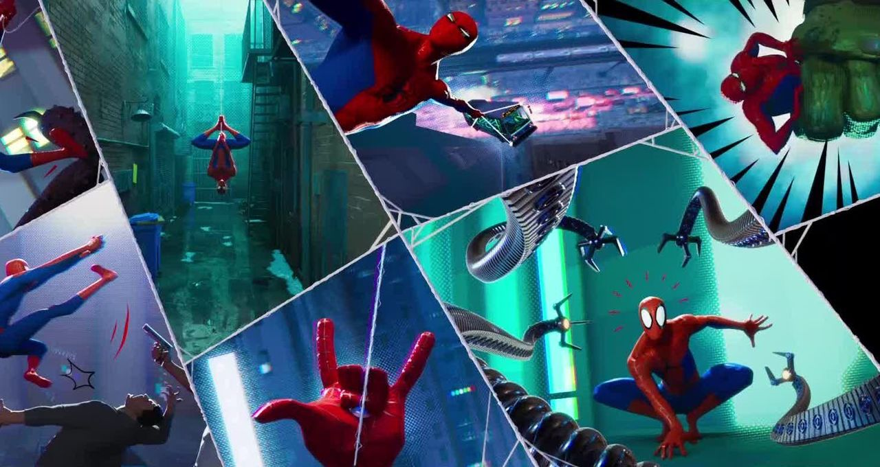 Spider Man Into The Spider Verse Required Inventing A New Kind Of
