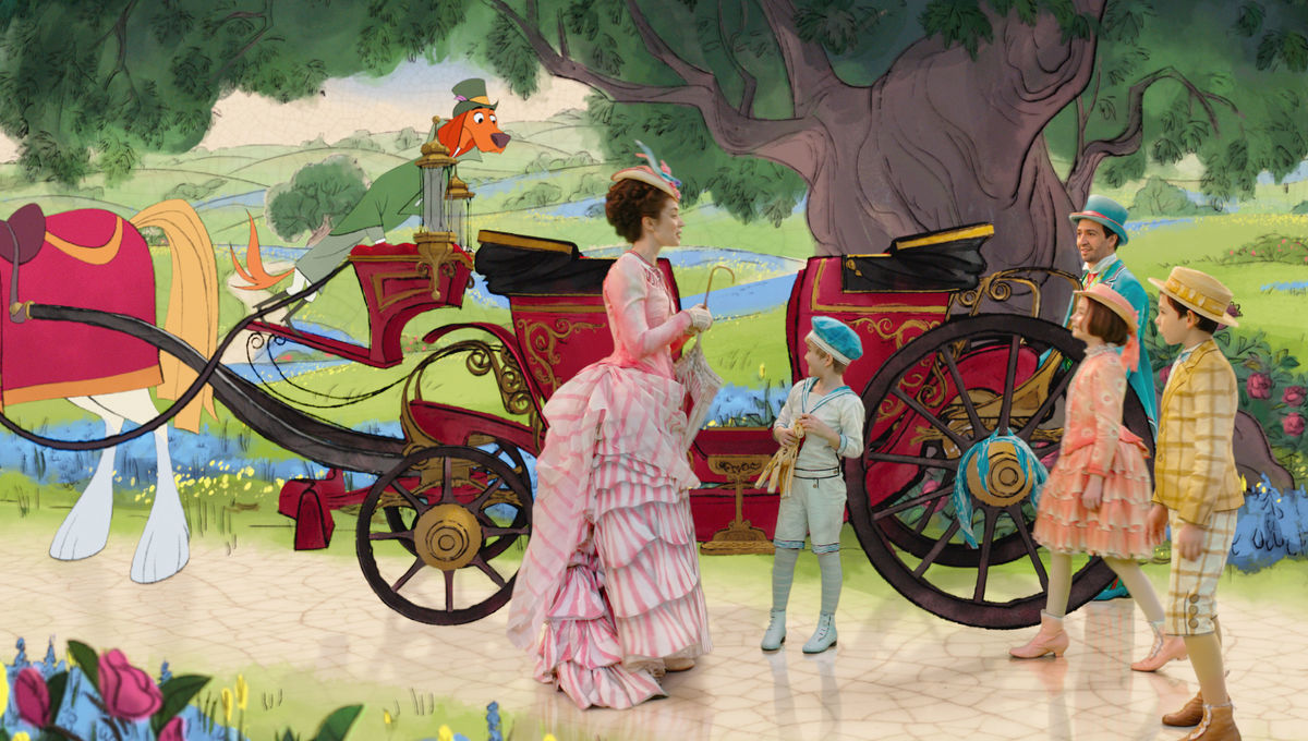 Mary Poppins Returns revives old-school Disney animation and makes