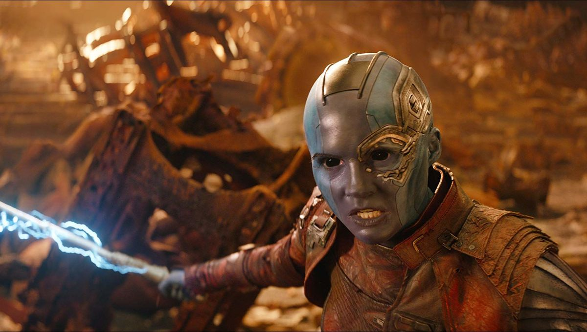 Nebula Deserves To Kick Thanos Ass In Avengers Endgame And It