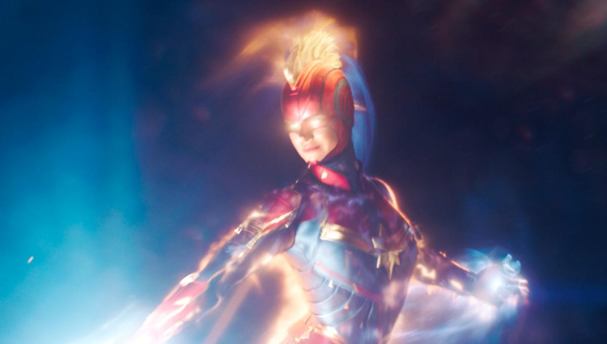 Brie Larson Glows Bright And Kicks Skrull Heinie In Second Trailer
