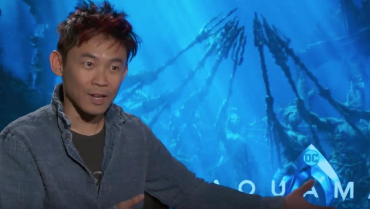 James Wan talking about Aquaman
