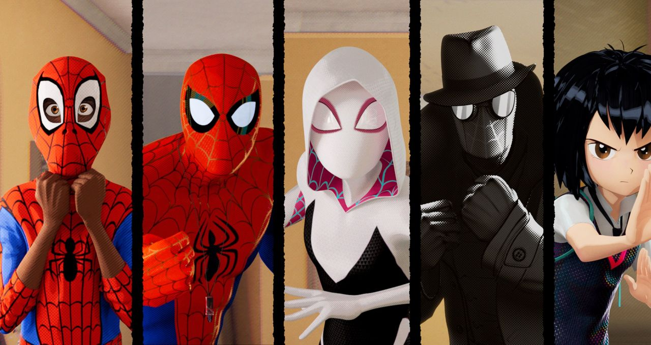 Sony releases full SpiderMan Into the SpiderVerse