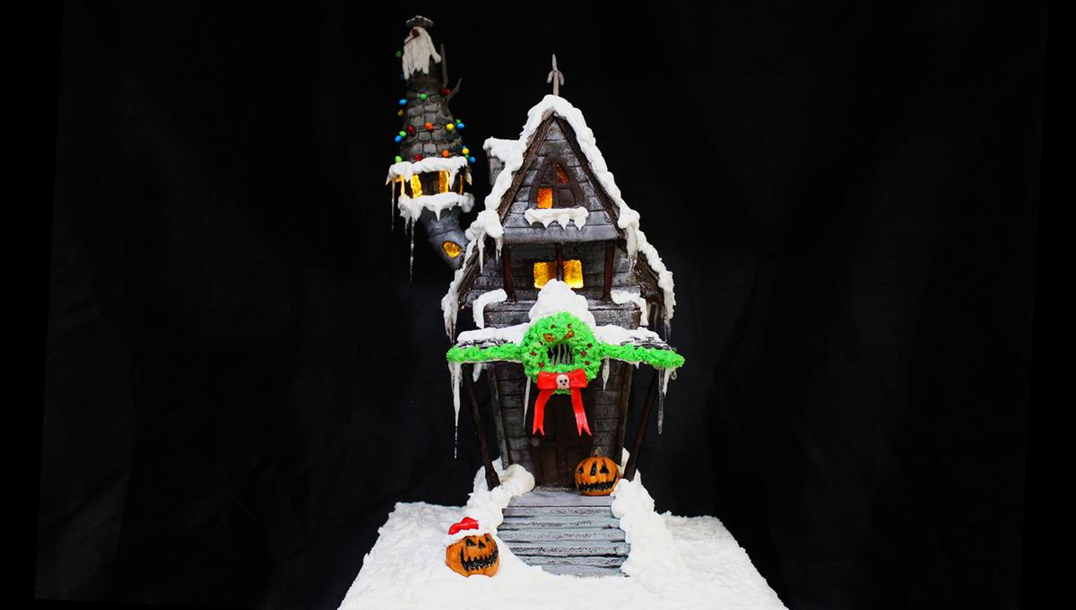 Fantastic Feasts: Jack Skellington's Nightmare Before Christmas gingerbread house