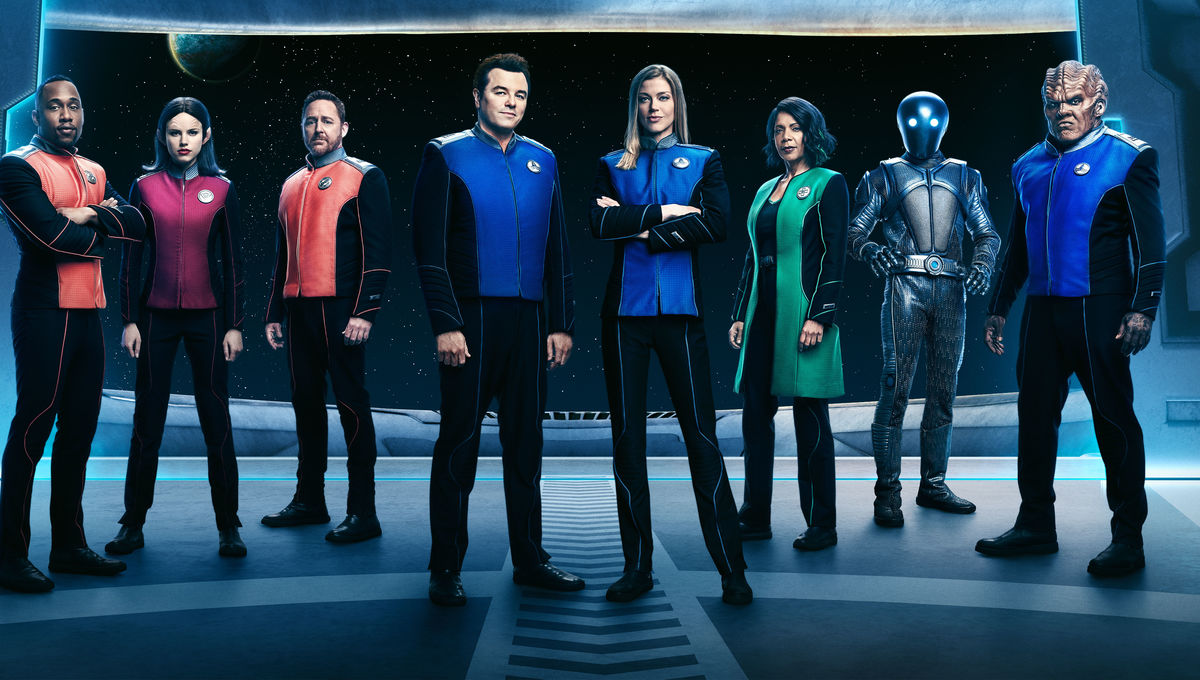 The Orville cast official promo shot