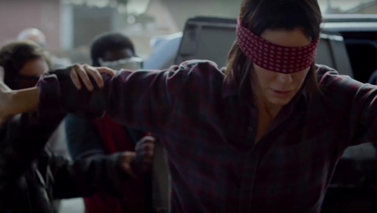 Bird Box Sandra Bullock via official Netflix YouTube 2018