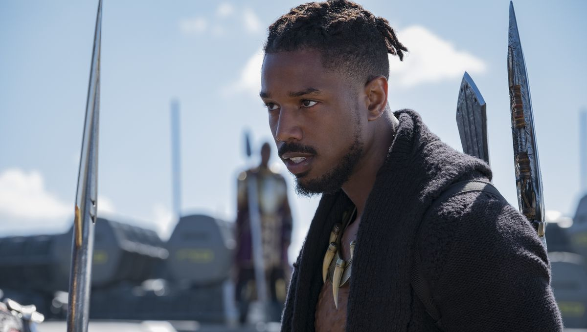 Black Panther erik Killmonger Michael B. Jordan