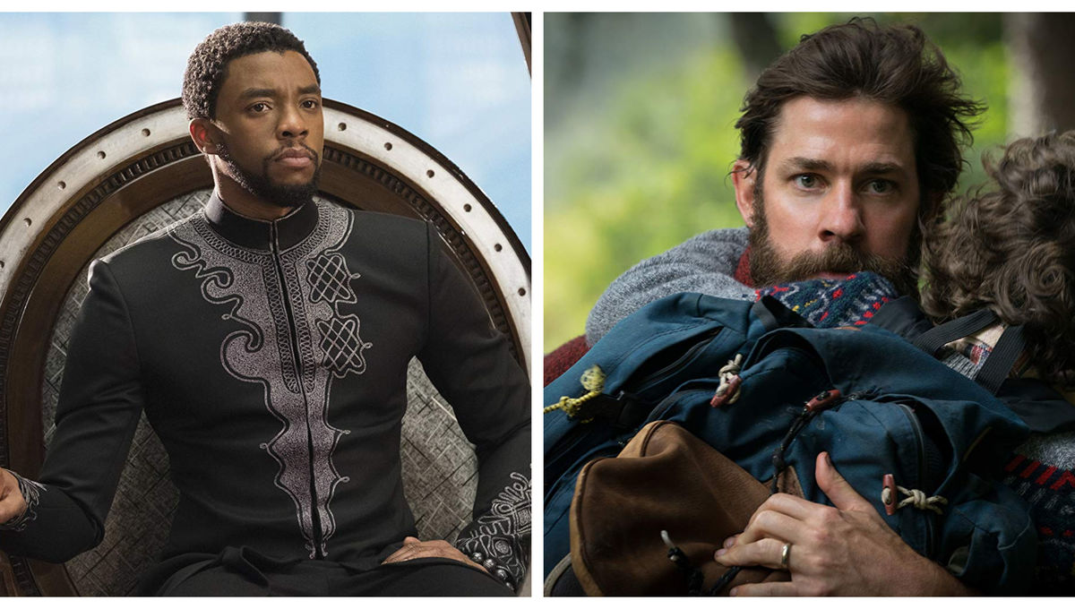 Black Panther A Quiet Place