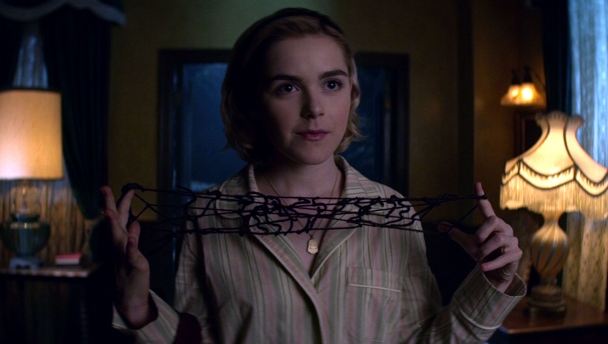 Kiernan Shipka Chilling Adventures of Sabrina