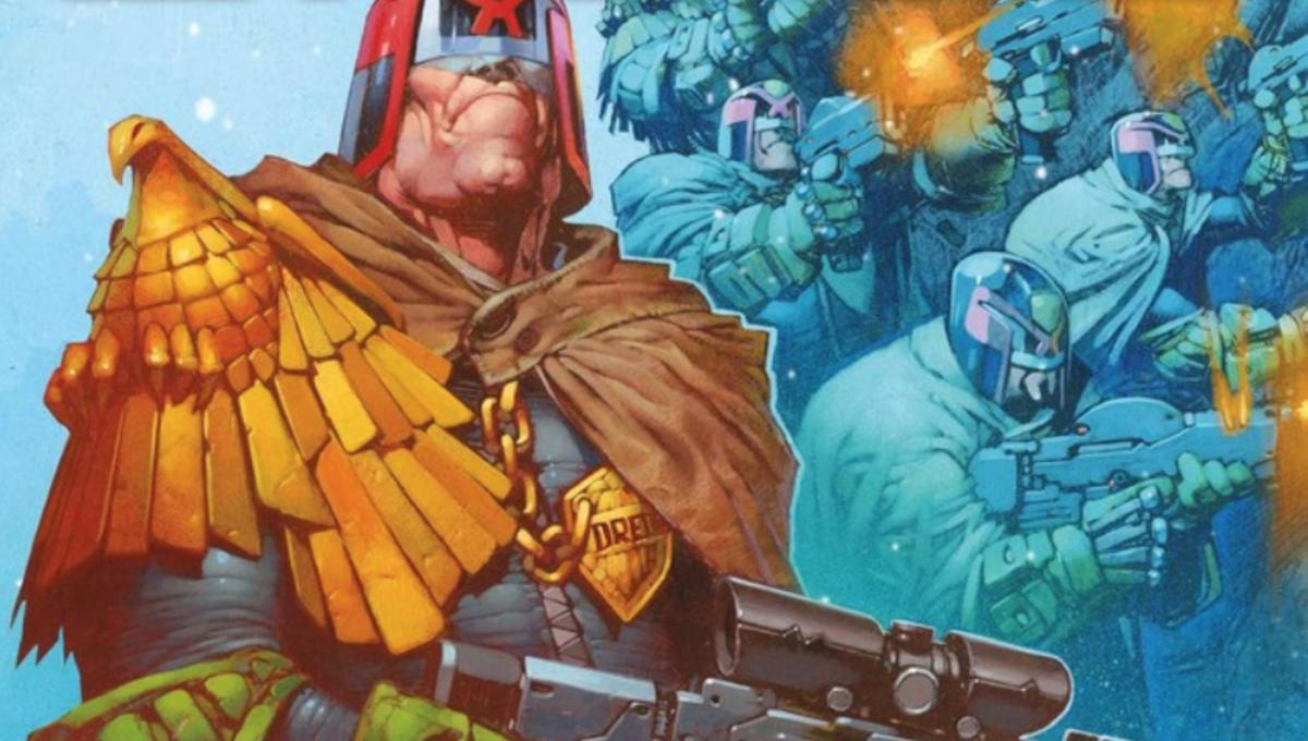 Exclusive preview: Fortify your winter with 2000 AD's frosty new Judge Dredd: Cold Wars