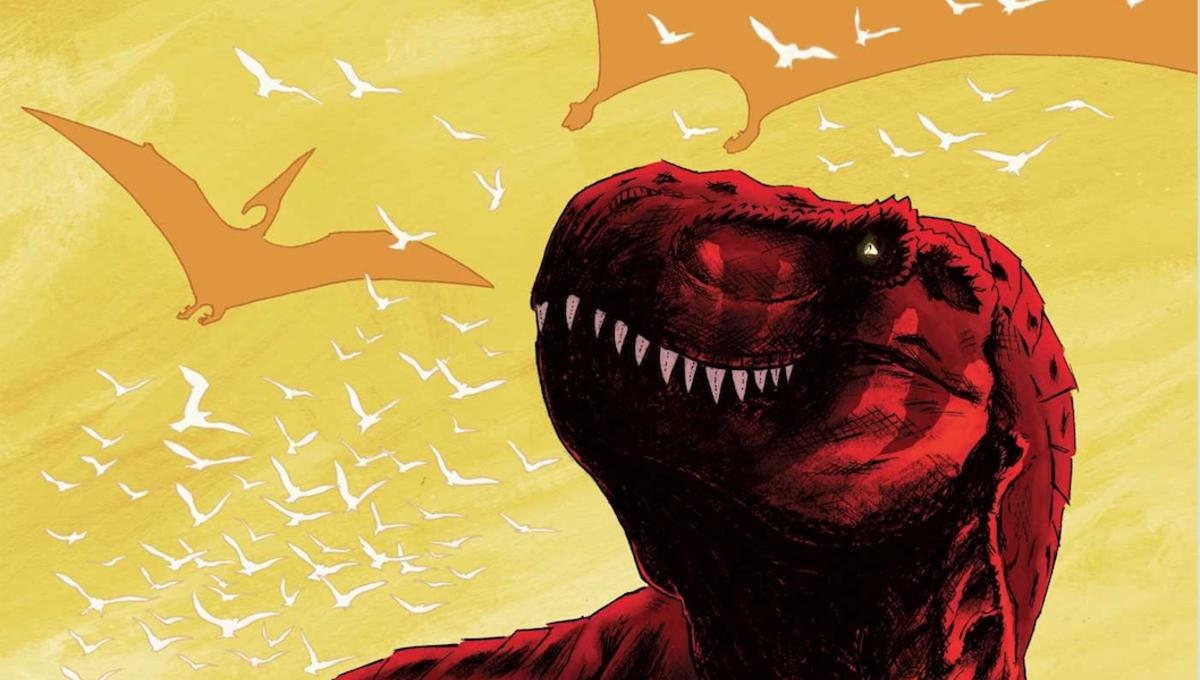Exclusive preview: Tadd Galusha goes primeval with Oni Press