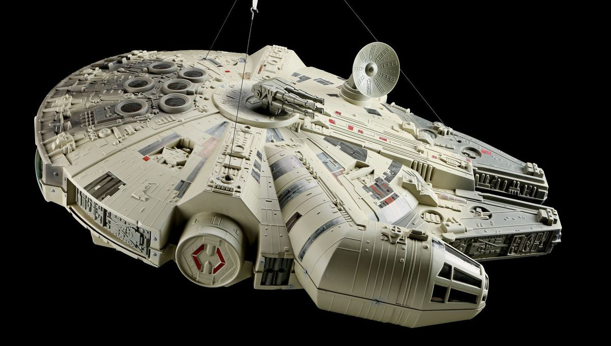 Millennium Falcon Store Display 1