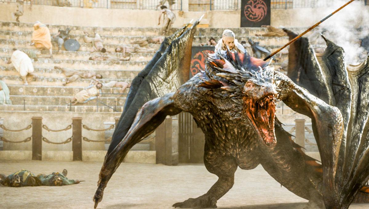 Game of Thrones Press Site pic Daenerys Dragon