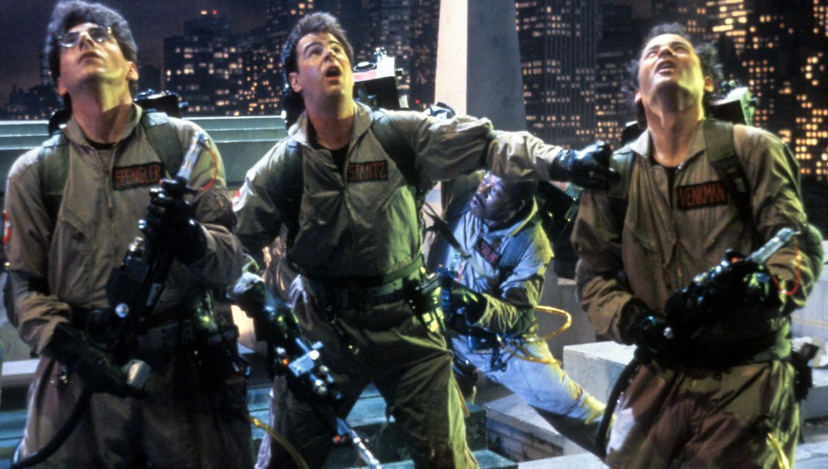 Harold Ramis, Dan Aykroyd, Bill Murray, Ghostbusters